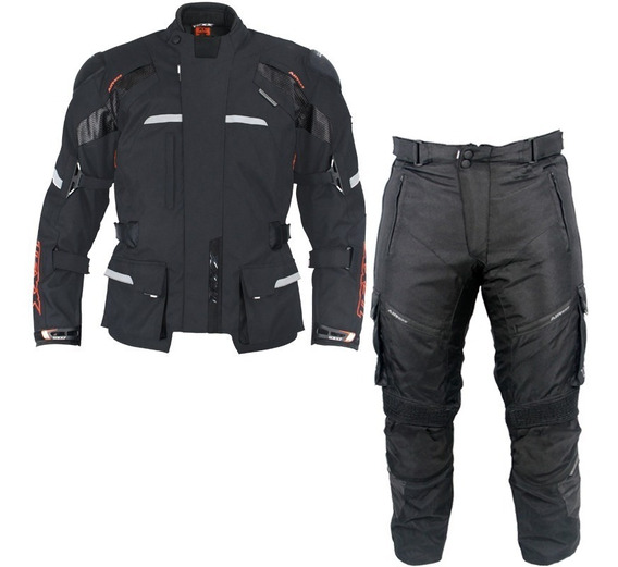 Conjunto Moto Texx Parka Force Jaqueta Calça Alpinestars Pre
