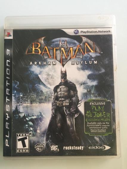Jogo Batman Arkham Asylum Playstation 3 - Usado