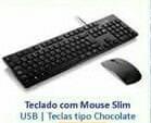 Teclado Com Mouse Slim