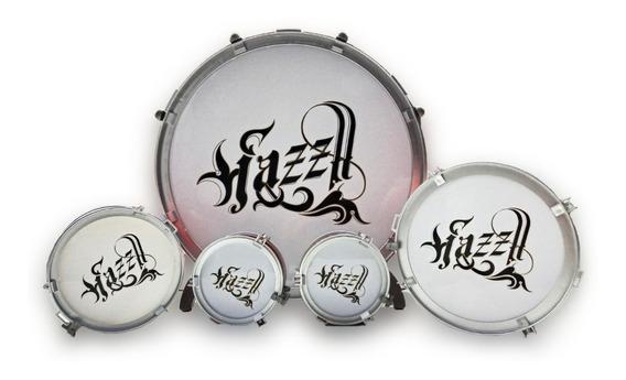 Drum Jazz Bateria Infantil Con Platillo Y Banquito Ck 0137