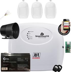 Kit Alarme Smart Cloud 18 Jfl Com Sensor Infra Idx 1001