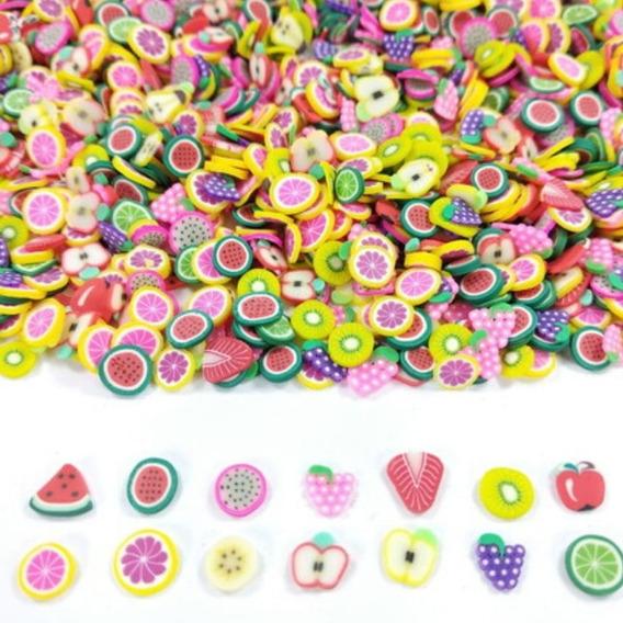 1000 Mini Frutinhas De Fimo Para Laços E Artesanato Em Geral