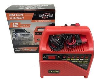 Cargador De Bateria 12 Amp Dezzer Universal 12-6 Volt Ml2313