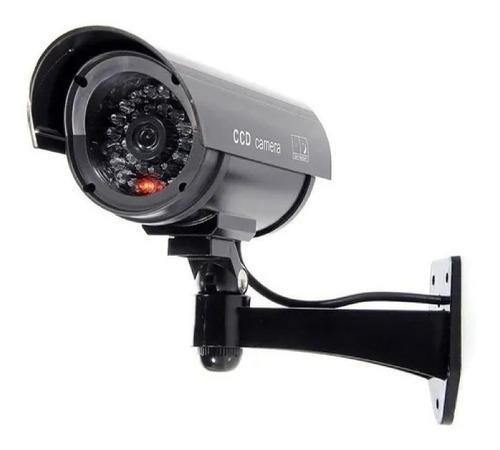 Camara De Seguridad Dummy (falsa) Ir Camera Luz Led