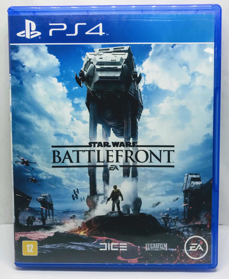 Star Wars Battlefront Ps4 - Alemão Games