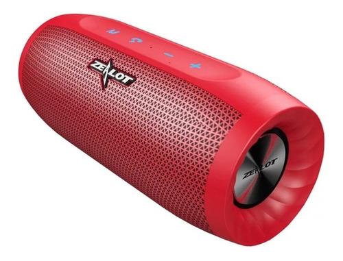 Caixa Original Zealot S16 Estéreo Portátil Bluetooth Speaker