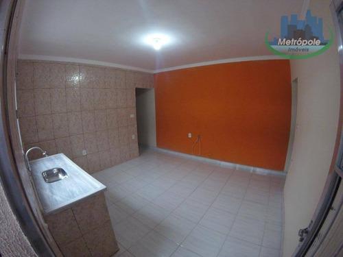 Apartamento Para Alugar, 55 M² Por R$ 1.100,00/mês - Parque Flamengo - Guarulhos/sp - Ap1227
