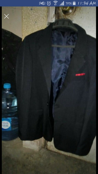 Traje Franco Rossi Talla 18 Y Camisa Manga Larga Talla M