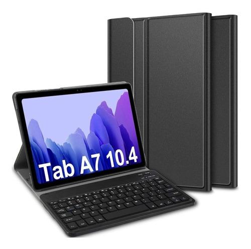 Funda Con Teclado Para Samsung Galaxy Tab A7 10.4 T500