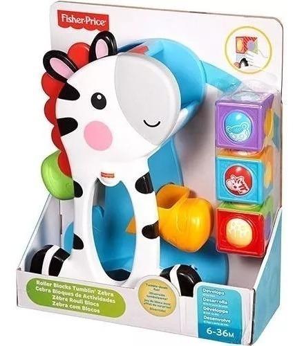 Fisher Price Zebra Blocos Surpresa Cgn63 - Mattel
