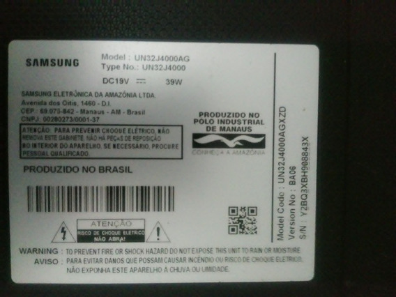 Peças E Placas, Tv 32 Samsung, Un 32j4000ag.