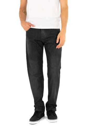 Jean Recto Hombre - Azul O Negro - B A Jeans