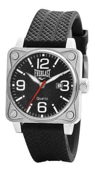 Relógio Pulso Everlast Esportivo Aço Unissex E033