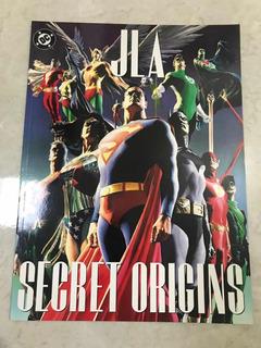 Jla Secret Origins Dc Comics Alex Ross & Paul Dini