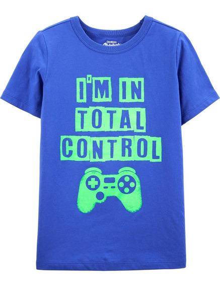 Playera Control Nueva Osh Kosh Talla 7