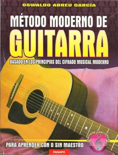 Método Moderno De Guitarra (nuevo) / Oswaldo Abreu García