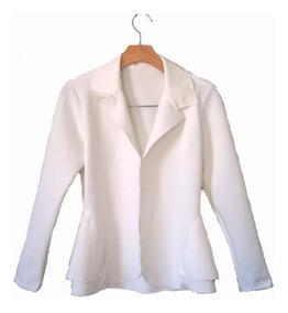 Blazer Neoprene Casaco Terninho Feminino Plus Size G1 G2 G3