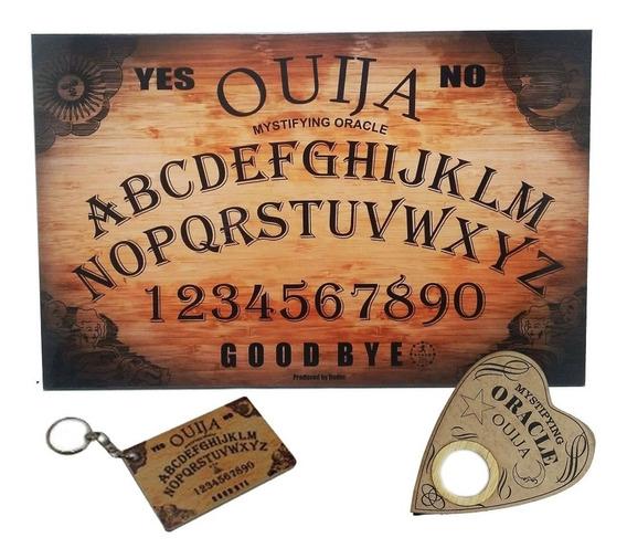 Placa Ouija Impresso - Tabuleiro