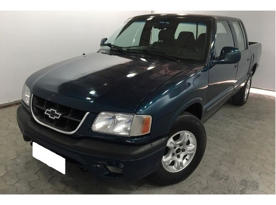 Chevrolet S10 2.5 Dlx Azul 4x4 Cd 8v Turbo Diesel 4p 2000