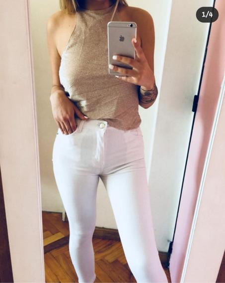 Jean Blanco Femme Fatale Talle 30