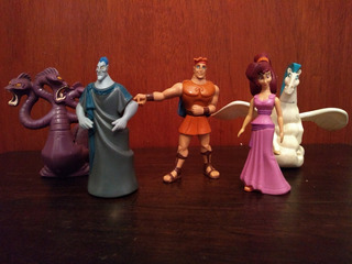 Muñecos Hercules Disney Mcdonalds