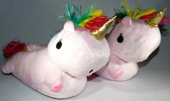 Pantuflas Unicornio Con Luz Leds Mira El Video Num 24/40