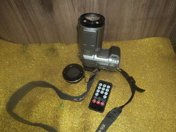 Antiga Câmera Filmadora Sony/dsc/f707 //bateria Ruim /revisa