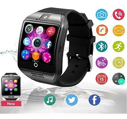 Bluetooth Reloj Inteligente Con Cámara, Ezone Reloj Intelig