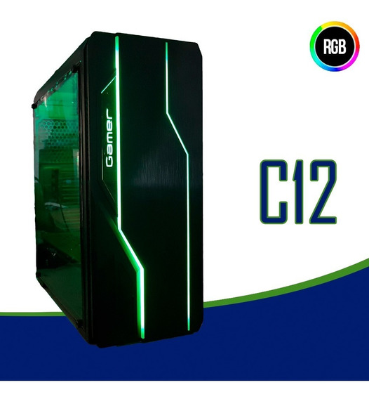 Cpu Gamer /core I7/ 16gb/ 1tb/ Gtx1050 4gb Ti/ Wifi/ Ssd Gab