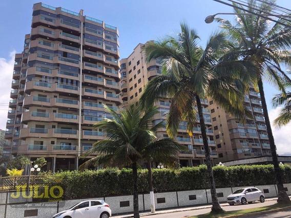 Entrada R$ 87.800,00 + Saldo Super Facilitado. Apartamento Com 3 Dormitórios, 116 M² Por R$ 439.000 - Centro - Mongaguá/sp - Ap1008