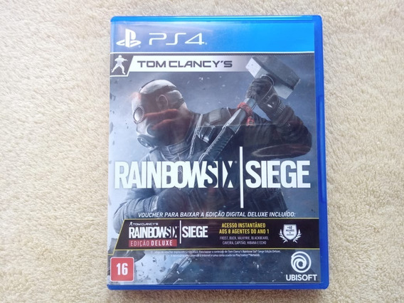 Jogo Rainbow Six Siege Deluxe Edition Original