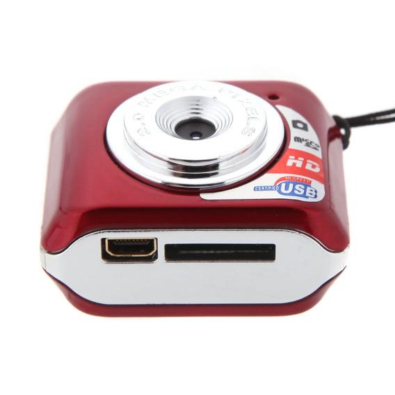 Mini Cámara Digital Con Micrófono Y Tarjeta Tf De 32 Gb