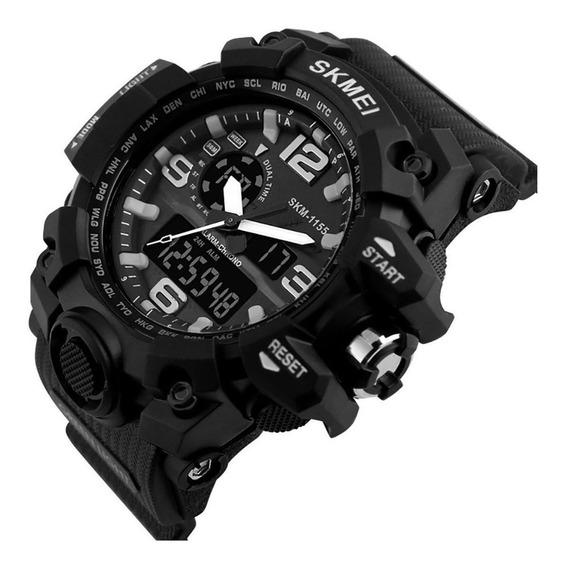 Relógios Masculinos Militar Esportivo Skmei Modelo 1155