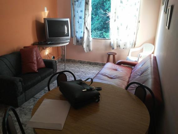 Apartamento Mobiliado Com 1 Dormitório Praia Do Sonho