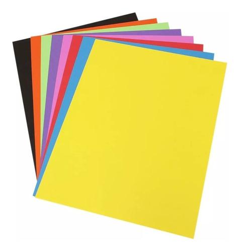Hoja De Color Tamaño Carta 1000 Hojas 29 Colores A Escogerse Mercado Libre