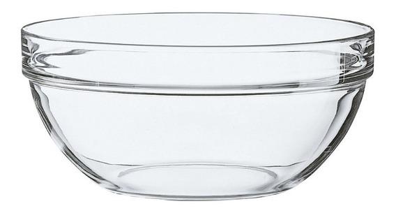 Ensaladera Vidrio 23cm Apilable Luminarc Elegante Resistente