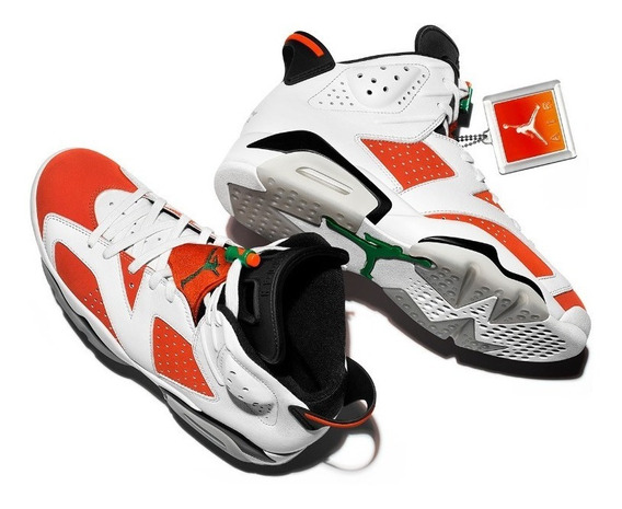 Zapatillas Air Jordan Retro 6 Like Mike Gatorade