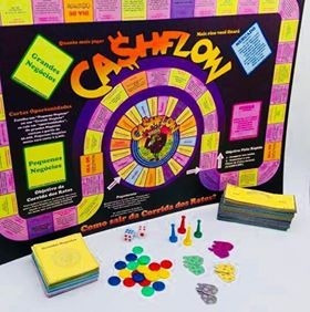 Kit Com 2 Jogos Cashflow Frete Gratis