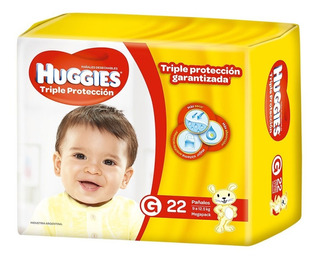 Pañales Huggies Classic Triple Proteccion Megapack