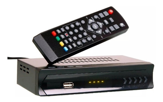 Conversor Digital Set Top Box Receptor Tv Digital
