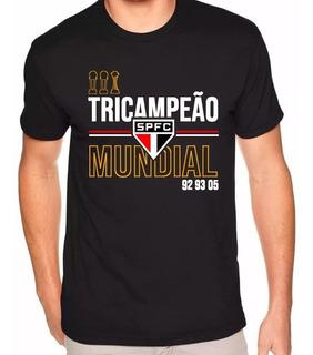 Camisa São Paulo Tricampeão Mundial