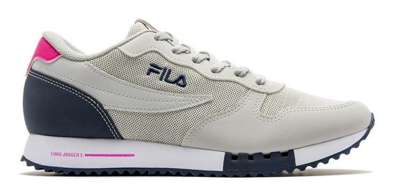 Zapatillas Mujer Fila Euro Jogger Sport W Pta/rsa