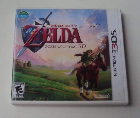 The Legend Of Zelda - Ocarina Of Time 3d Para 3ds Europeu