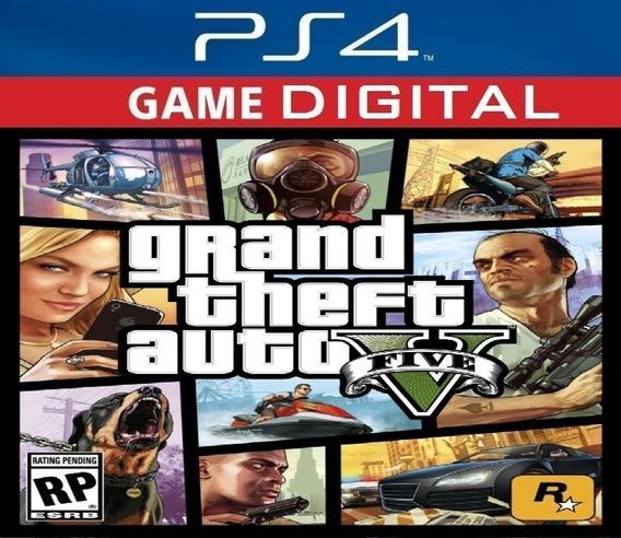 Gta V 5 Ps4 Psn Digital Original1 Pt Br