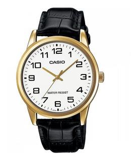 Reloj Casio Hombre Mtp-v001gl-7b Ag Oficial Caba Gtia 2 Años