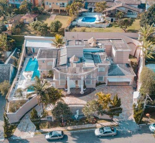 Imagem 1 de 30 de Casa Com 5 Dormitórios À Venda, 980 M² Por R$ 4.980.000,00 - Granja Viana - Carapicuíba/sp - Ca18738