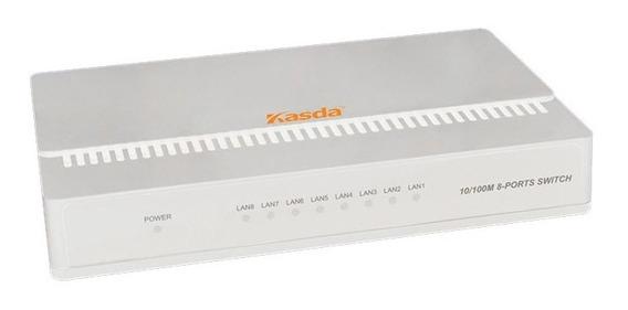 Kasda Switch 8 Puertos 10/100mbps Auto Mdi/mdix Ka-ks108 /a