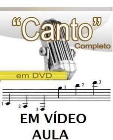Aulas De Canto Curso Em 2 Dvds B6m