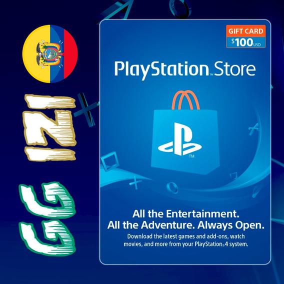 Playstation Gift Card $100 - Tarjeta De Regalo Play Station