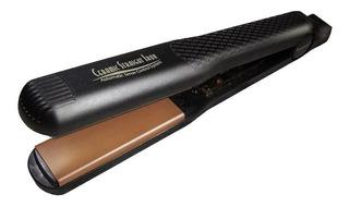 Plancha de cabello HairArt Original negra y dorada con placas de cerámica y turmalina 110V